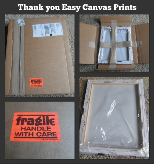 Thank you Easy Canvas Prints
